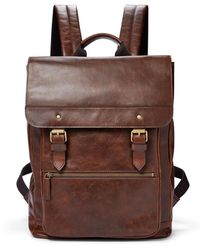 Fossil Miles Backpack - Brown