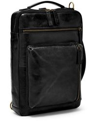 Fossil Buckner Commuter Bag Mbg9483001 - Black