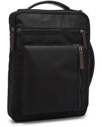 Fossil Buckner Commuter Bag - Black
