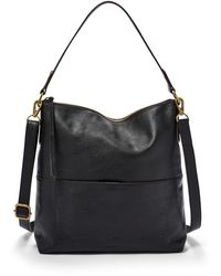 Fossil Amelia Hobo Handbags Black