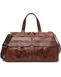 Fossil Miles Duffle - Brown