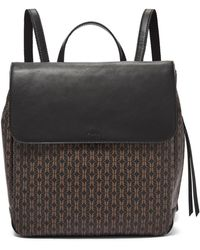 Fossil Claire Backpack Handbags Black/brown