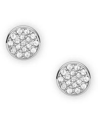 Fossil Silver-tone Brass Earrings - Metallic