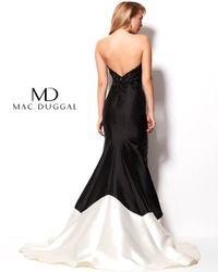 Mac Duggal 82543r - Black