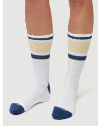 FRAME Varsity Frame Sock - Blue