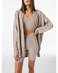 FRAME Cashmere Draped Cardi - Multicolour