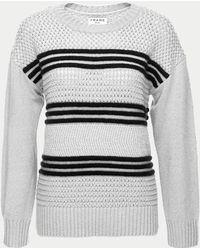 FRAME Basket Weave Sweater - Multicolor