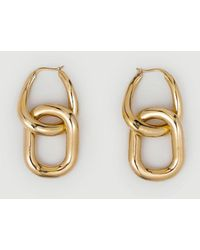 FRAME Mejuri Le Chain Earring - Metallic