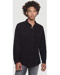FRAME Corduroy Western Shirt - Black