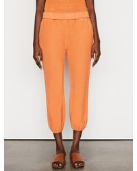 FRAME Rolled Up Sweatpant - Orange