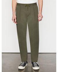 FRAME Relaxed Trouser - Green