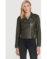 FRAME Pch Leather Jacket - Multicolour