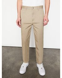 FRAME Cotton Chino Trouser - Natural