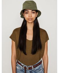 FRAME Frame Bucket Hat - Green