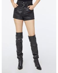 FRAME Imaan X Frame Le Bootie Coated Short - Black