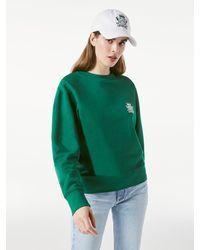 FRAME Carlyle Small Crest Sweatshirt - Green