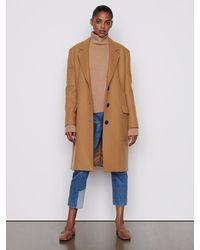 FRAME East Side Overcoat - Natural
