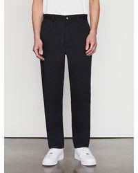 FRAME Cotton Chino Trouser - Black