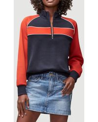 FRAME - Piped Track Jacket - Lyst