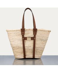 FRAME Straw Tote - Natural