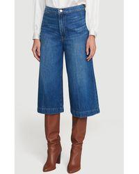 FRAME Le Culotte Trouser - Blue