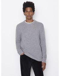 FRAME The Cashmere Crewneck Sweater - Grey