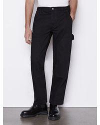 FRAME Workwear Denim Jean - Black