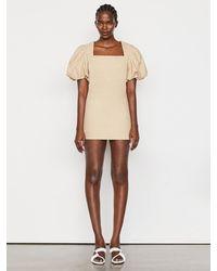 FRAME Nina Dress - Natural