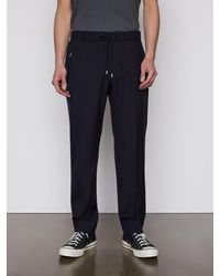 FRAME Drawstring Trouser - Blue