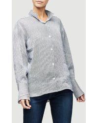 FRAME Clean Collared Shirt - Multicolour