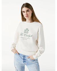 FRAME Carlyle Sweatshirt - White