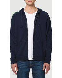 FRAME - French Terry Hoodie - Lyst