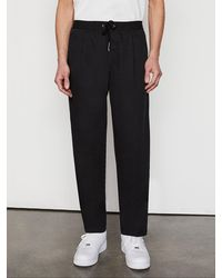 FRAME Relaxed Trouser - Black