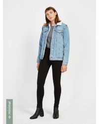 Frank And Oak - The Debbie High-waisted Hydro-less Skinny Jean - Lyst