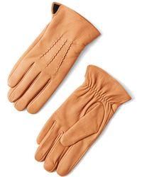 Frank And Oak - Deerskin Gloves In Tan - Lyst