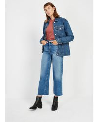 Frank And Oak - The Nina Wide Jean - Lyst