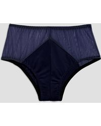 Frank And Oak - Sokoloff X Celeste Brief In Navy - Lyst