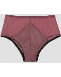 Frank And Oak - Sokoloff X Celeste Brief In Faded Pink - Lyst