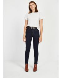 Frank And Oak - The Debbie High-waisted Skinny Jean - Lyst