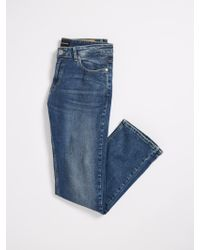 Frank And Oak - The Miles Straight Stretch Denim - Lyst