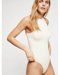 Free People - Feels Right Bodysuit - Lyst