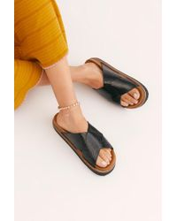 e9491ec2d54f Free People - Sidelines Footbed Sandal By Fp Collection - Lyst