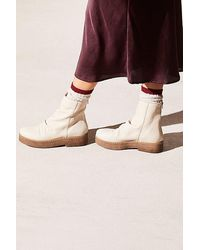 Free People Byron Flatform Boot By Fp Collection - White