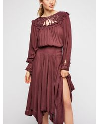 Free People - Camille Maxi Dress - Lyst
