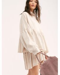 Free People Lucy Pullover - Natural