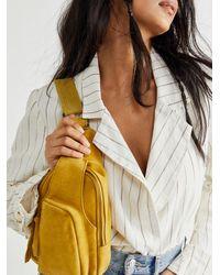 Free People Hudson Sling Bag - Yellow