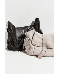 Free People Leigh Distressed Hobo - Multicolour