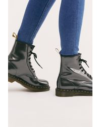 Free People - Dr. Martens 1460 Vegan Chrome Boot - Lyst