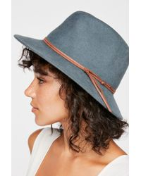 9ac0a1d8de1d3 Free People - Aurora Felt Hat By  ale By Alessandra - Lyst