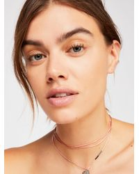 Free People - Healing Crystal Necklace - Lyst